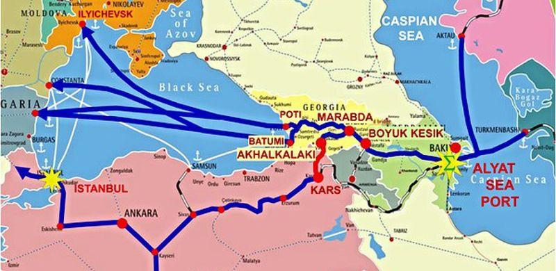 Транскаспийский международный транспортный маршрут: минуя Россию