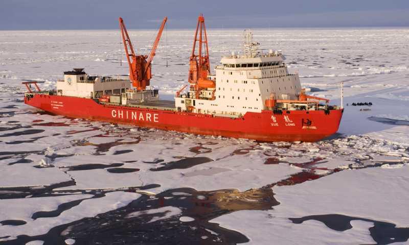 Китайский ледокол «Xue Long» («Снежный дракон»)