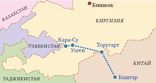 Смысл  Китайско-Узбекской железной дороги через Кыргызстан утерян?