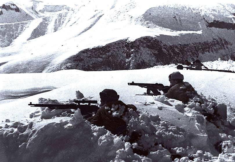 Надежный тыл Красной армии вблизи Кавказского хребта