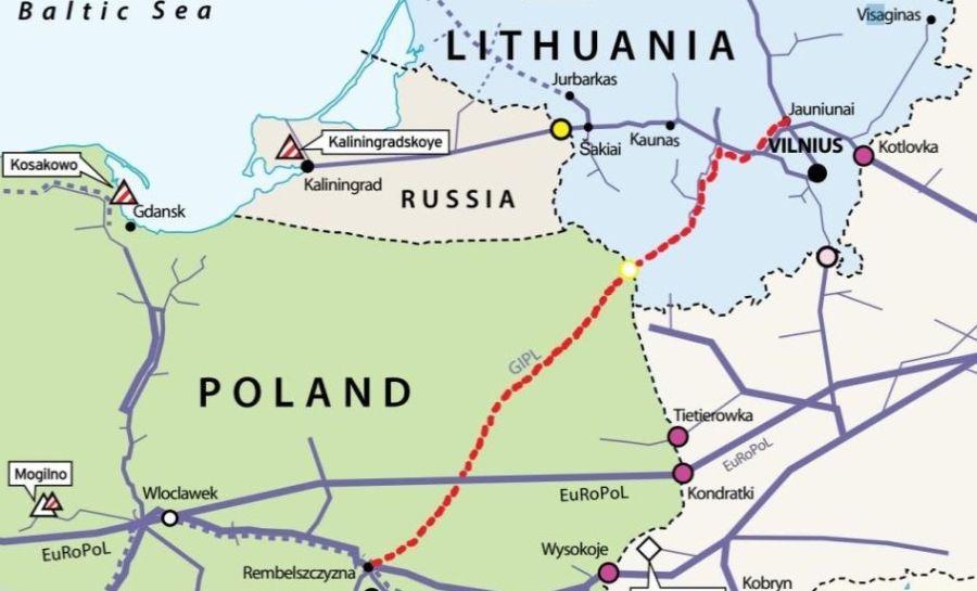 Польша и Литва хотят объединить газотранспортные системы