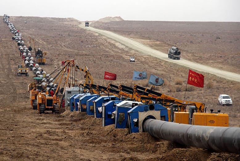 Казахстан снижает экспорт газа в Китай