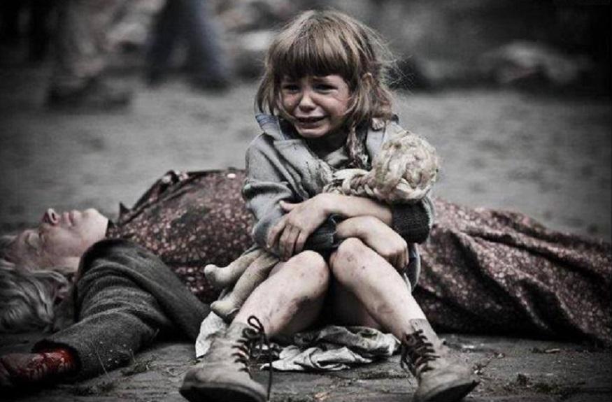 Ваше молчание убивает детей Донбасса!» - Ритм Евразии