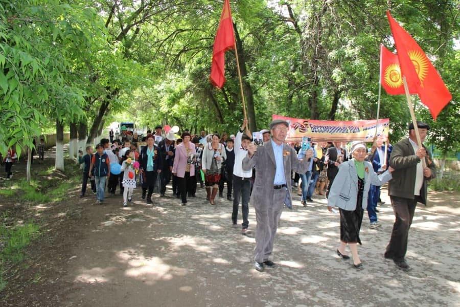 Дань памяти Великой Победе на берегах Иссык-Куля