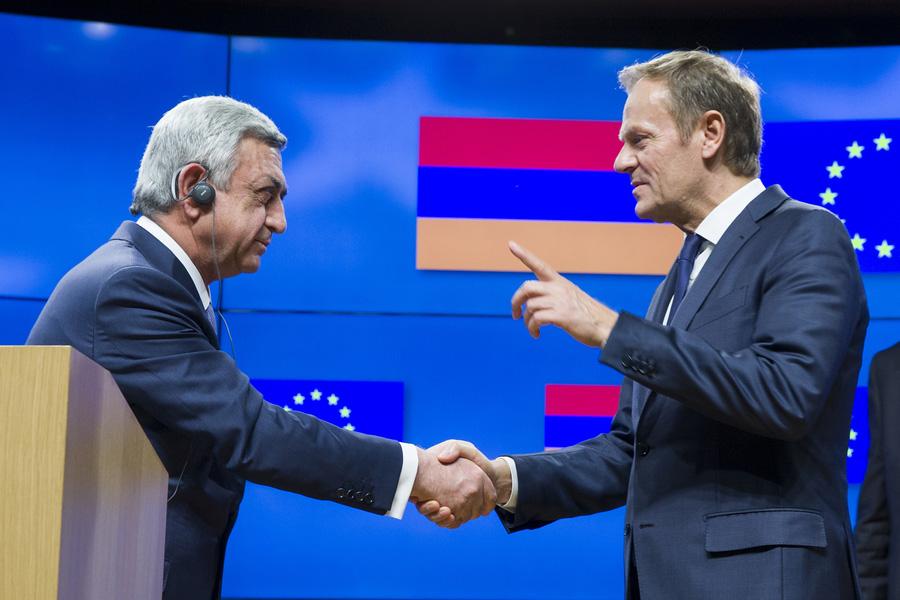 Армения осталась союзником России и стала партнером Евросоюза